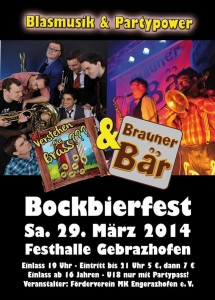 2014-03-29 - Flyer Bockbierfest