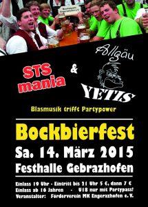 Flyer Bockbierfest