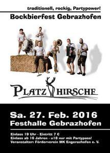 2016-02-27 - Flyer Bockbierfest