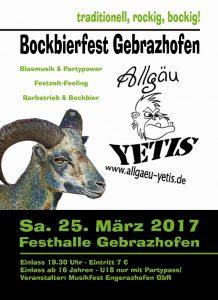 Bockbierfest 2017 vorn